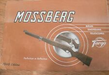 ORIGINAL Vintage 1951&1946  Mossberg  Targo Catalog Plus More