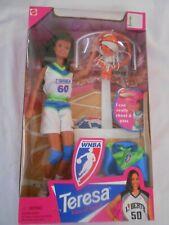 1998 Wnba Teresa Rebecca Lobo Barbie Doll #20350 Nrfb She Can Shoot & Pass
