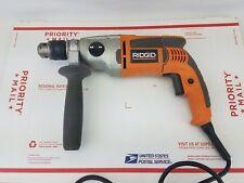 Ridgid R5011 1/2-Inch 2-Speed 8.5-Amp Corded Hammer Drill Kit