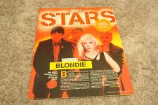 Blondie 2006 article for 30th Anniversary, Debbie Harry, Chris Stein, Clem