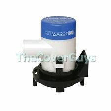 TRAC 1100GPH 4160LPH Submersible Boat Bilge Pump