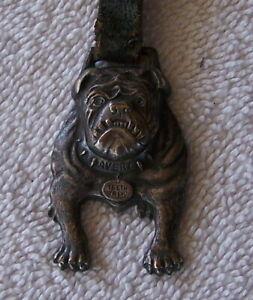 Vintage Original Avery Bulldog Pocket Watch Fob Peoria ILL Trucks Automobiles