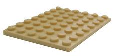 Plaques LEGO Gris Foncé (dark Stone Grey Plate) - 6x8 3036