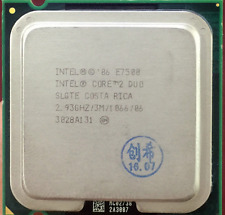 Intel Core 2 Duo E7500 2.93GHz 3MB 1066MHz SLGTE LGA775 CPU Processor