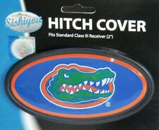 Florida Gators Durable Plastic Oval Hitch Cover NCAA Licensed