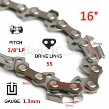 16'' 55 DL 3/8 0.050'' Chainsaw Saw Mill Chain For McCULLOCH HUSQVARNA STIHL
