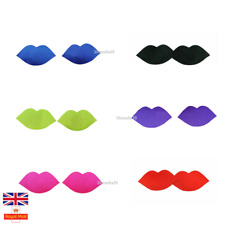 Women's Self Adhesive Nipple Covers Breast Pasties  Lips Shape  Naughty Sexy Fun