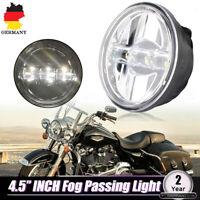 """4.5"""" 4-1/2 Zoll LED Nebelscheinwerfer Zusatzscheinwerfer Tagfahrlicht für Harley"""