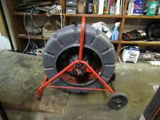 Ridgid Seesnake Compact Camera Reel Color Picture 100' Cable 512Hz