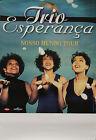 """""""Trio Esperança (NOSSO MUNDO TOUR)"""" Affiche originale 1999 (Photo KHALIL)"""
