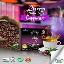 Liven Alkaline Coffee Made Of Premium Arabica Beans - Cappuccino flav 20 sachet