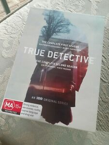 True detective Season 1 and 2 DVD