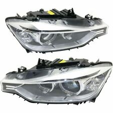 ZKW 7215110002, 7215210002 Headlight Assy Set Right and Left HID Xenon