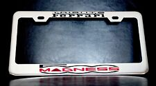 """FIAT 500 MADNESS TRIBUTO FERRARI"" License Plate Frame"