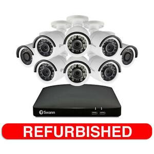 Swann 8ch Home Security 1080p 8x Motion Sensor Cameras/HDD CCTV System /1TB DVR