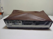 Panasonic PV-1230 VCR Vintage VHS Player With Manual and Cover