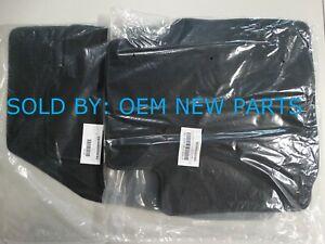 2017-2020 Chevrolet Impala Factory Floor Mats Set Jet Black Carpet OEM New
