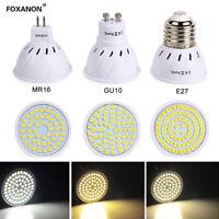E27/GU10/MR16 Spotlight 3528 SMD Led Bulb 4/6/8W Light Lamp /Warm/White 220V110V