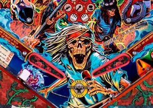 Roses Flipper Bat Topper MODs for Jersey Jack's Guns N Roses pinball (Set of 3)