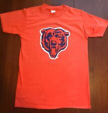 70s Chicago Bears T Shirt Official Champion Products Medium Orange Made In Usa