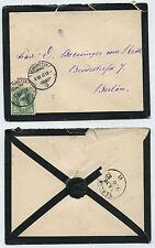 21949 - Trauer-Beleg - Schweiz - Neumünster 8.6.1882 nach Berlin