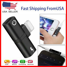 2in1 Lightning Adapter Audio and Charger Splitter for iPhone 7 8 X XR 11 12