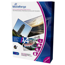 MediaRange A4 CARTA STAMPANTI LASER PATINATA OPACA 120g 100 fogli MRINK106