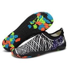 Men Skin Shoes Water Shoes Aqua Summer Sport Socks Pool Beach Swim Slip On Surf
