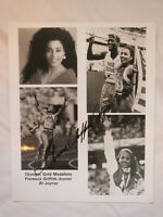FLORENCE GRIFFITH JOYNER FLO-JO OLYMPIC CHAMP SIGNED  AUTOGRAPHED  8 X 10 PHOTO
