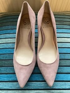 Vince Camuto Brand New Dusty Pink Court Shoes (size 38) And Handbag
