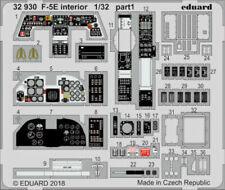 Eduard Fotoätzteile F-5E 1:3 2 Kit Interior Kitty Hawk Art. 32930