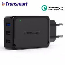 TRONSMART W3PTA 42W 3-Port USB Wall Charger with Quick Charge 3.0 & VoltIQ