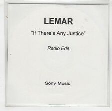 (HB462) Lemar, If There's Any Justice - DJ CD