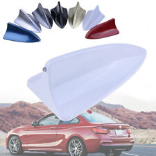 NEW Universal White Car Dummy Shark Fin Roof Mount Decorative Aerial Antenna