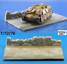 Redog 1/72 diorama display diorama base for military vehicles kits /d6