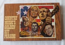 COUNTRY MUSIC'S GOLDEN HIT PARADE  (4 x Cassette Tape Boxset)