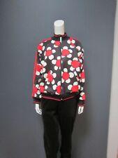 MARC JACOBS polyester & elasthan   jacket NEW   black with flowers UNISEX