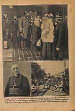 Cathédrale Saint-Aubain de Namur Albert Ier de Belgique Evêque 1919 ILLUSTRATION