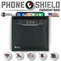 Mission Darkness Faraday Bag,Signal Isolation Bag,Shield Phone/ipad from Hacking