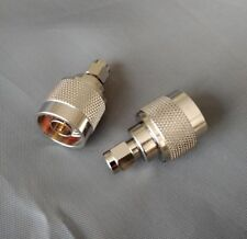 (2 PCS) SMA Male to N male Connector Adapter - USA Seller