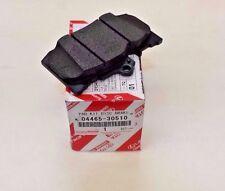 LEXUS FACTORY OEM FRONT BRAKE PAD SET 04465-30510