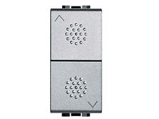 BTICINO LIVINGLIGHT NT4037 doppio pulsante (NO interbloccati) - Tech
