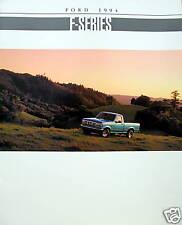 1994 Ford F-Series pickup truck new vehicle brochure