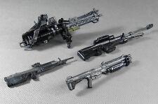 McFarlane Halo 4 Weapon Marksman Sniper Shotgun Rifle Machine Gun Turret Figure
