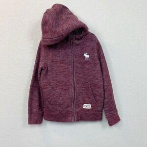 Abercrombie Kids Sherpa Lined Full Zip Hoodie Kids size 5/6