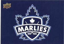 2014-15 Upper Deck AHL TORONTO MARLIES Alternate Sticker #57 Maple Leafs