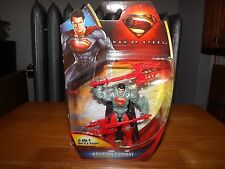 "MAN OF STEEL, KRYPTON COMBAT SUPERMAN, 2 IN 1 BATTLE STAFF, 3.75"" FIG, NIP, 2013"
