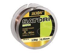 Ligne de pêche Jaxon Satori MATCH 150m 0,12mm -0,25mm BOBINE monofile fil