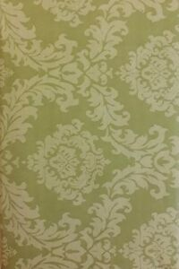 DAMASK PATTERN VINYL FLANNEL BACK TABLECLOTH BY ELRENE Various Sizes