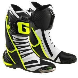 Stivali Moto GAERNE GP1 EVO BIANCO NERO GIALLO 2451-051 taglia 44